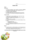 Salads Final Assessment