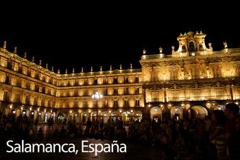 Salamanca, Spain Poster: Digital Download