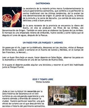 Salamanca, Spain: Authentic Reading Comprehension Assessment