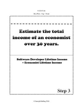 Salary and Lifetime Income INB TEKS 6.14H