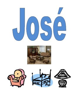 Salas y Muebles (Rooms and Furniture in Spanish) Detectives speaking activity