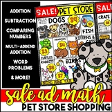 Sale Ad Math: Pet Store Shopping