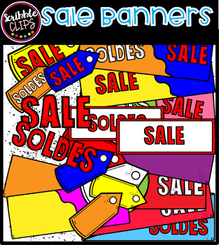 Sale Banners (scribble clips)