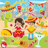 Sale Cinco de mayo clipart commercial use, vector graphics, digital  - CL1160