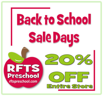 Sale Days - Back to School