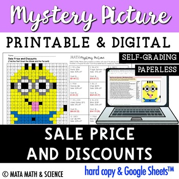 Sale Price and Discounts: Mystery Picture (Minion)