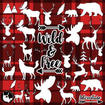 Sale woodland animals commercial use, vector graphics, images  - DS1171