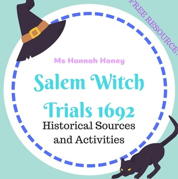 Salem Source Booklet with Activities and Questions Grade 9-10