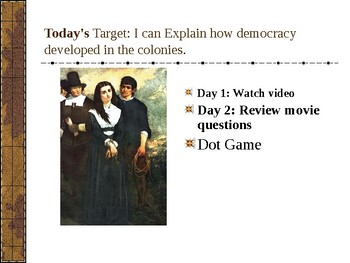 Experiencing Early American History: Salem Witch Trials/ Middle School