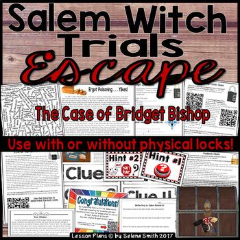 Salem Witch Trials Breakout Lock Box / Escape Room