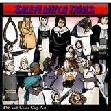 Salem Witch Trials Clip-Art! BW/Color...80 Pieces!