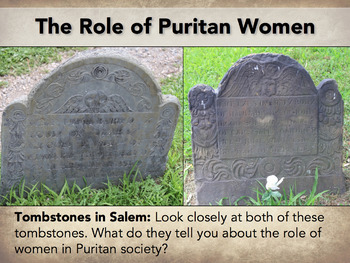 Salem Witch Trials Introductory PowerPoint -- The Crucible, Puritans