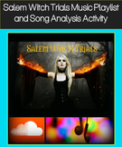 The Crucible Activity: Salem Witch Trials Music Playlist and Song Analysis