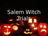 Salem Witch Trials Power Point