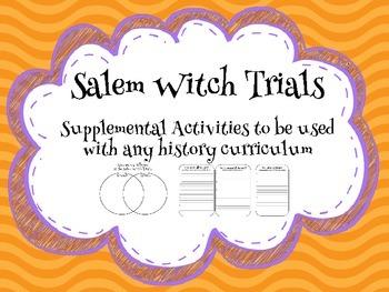 Salem Witch Trials Supplemental Activities