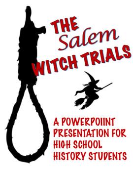 Salem witch trials powerpoint