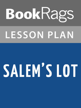 Salem's Lot Lesson Plans