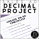 Sales Ad Math: Adding Decimals, Subtracting Decimals, Mult