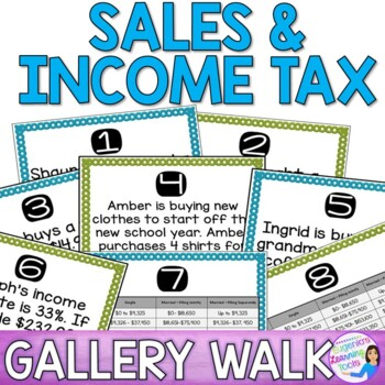 Sales & Income Tax Gallery Walk