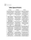 Sales Speech Unit *4 PIECES