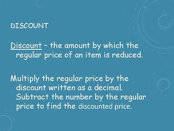 Sales Tax & Discount: Notes, Examples & Independent Practice