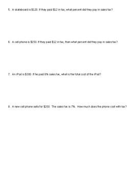 Sales Tax Notes