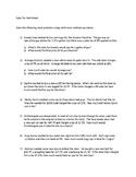 Sales Tax Word Problem Workheet
