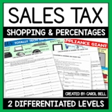 Sales Tax Worksheets