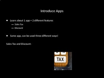 Sales Tax and Discount App PowerPoint