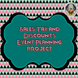 Sales Tax and Discount Event Planning Project