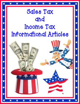 Sales Tax and Income Tax Informational Articles for Elemen