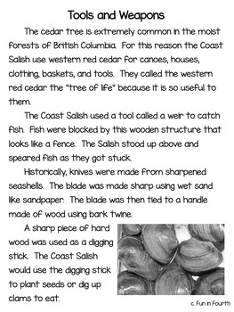Salish: Indigenous (First Nations, Aboriginal) Cultures Informational Article