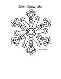 Salish Design Snowflake