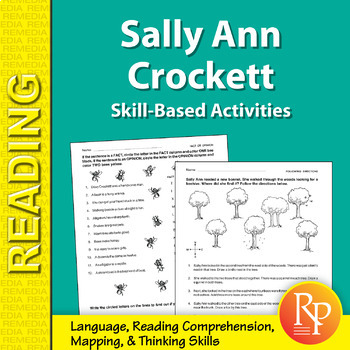 Sally Ann Crockett: Skill-Based Activities