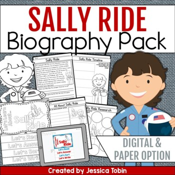 Sally Ride Biography Pack