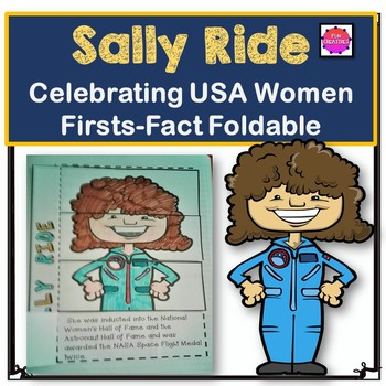 Sally Ride Foldable Activity-Women Firsts