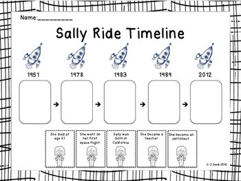 Sally Ride Timeline