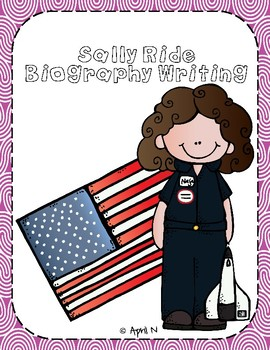 Sally Ride Writing Tab Book