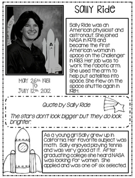 Sally Ride and Neil Armstrong...American Space Heroes!