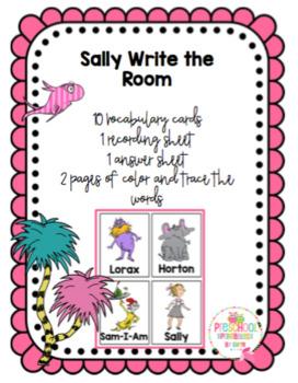 Sally Write the Room