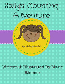 Sally's Counting Adventure- Learning to count worksheets PDF format