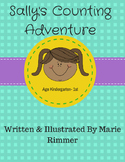 Sally's Counting Adventure- Learning to count worksheets P