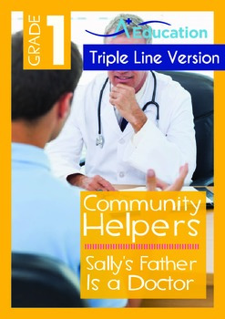 Sally's Father Is a Doctor (with 'Triple-Track Writing Lines')