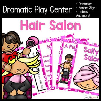 Hair Salon Dramatic Play