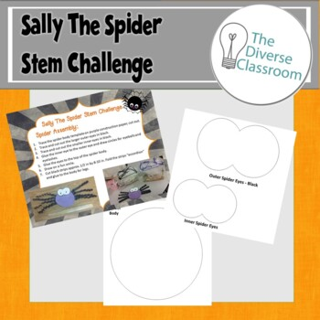 Sally the Spider October Halloween Stem Challenge