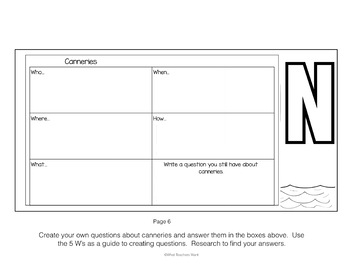 Salmon Flip Book - Science and Social Studies Options