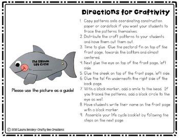 Salmon Life Cycle Craft
