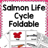 Salmon Life Cycle Interactive Notebook Foldable