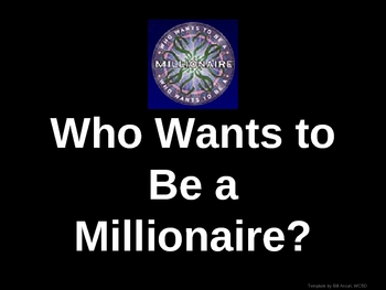 Salmon Summer Who Wants to be a Millionaire Review Game