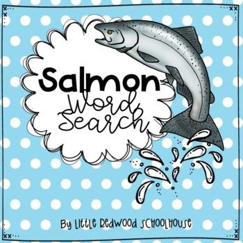 Salmon Word Search